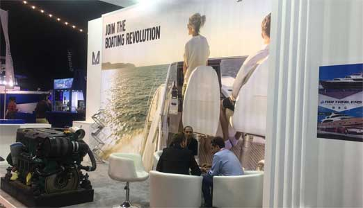 AL MASAOOD PRESENTS MTU AND VOLVO PENTA ENGINES AT DUBAI